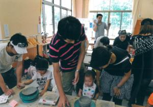 親子で陶芸教室