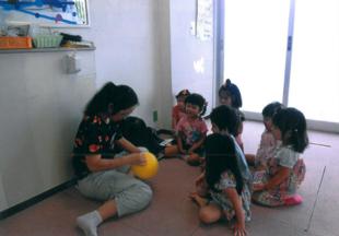 保育園の生活のイメージ